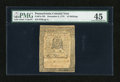 Colonial Notes:Pennsylvania, Pennsylvania December 8, 1775 10s PMG Choice Extremely Fine 45....