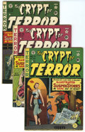 Golden Age (1938-1955):Horror, Tales From the Crypt Group (EC, 1950-55) Condition: AverageQualified FN.... (Total: 30 Comic Books)