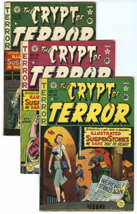 Tales From the Crypt Group (EC, 1950-55) Condition: Average Qualified FN.... (Total: 30 Comic Books)