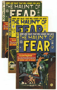 Haunt of Fear Group (EC, 1950-54) Condition: Average Qualified FN.... (Total: 28 Comic Books)
