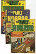 Golden Age (1938-1955):Horror, Vault of Horror #12-40 Group (EC, 1950-55) Condition: AverageQualified FN.... (Total: 29 Comic Books)
