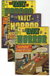 Vault of Horror #12-40 Group (EC, 1950-55) Condition: Average Qualified FN.... (Total: 29 Comic Books)