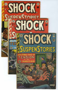 Golden Age (1938-1955):Horror, Shock SuspenStories #1-18 Group (EC, 1952-55) Condition: AverageQualified FN-.... (Total: 18 Comic Books)