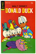 Bronze Age (1970-1979):Cartoon Character, Donald Duck #154 Signed by Carl Barks (Gold Key, 1974) Condition:NM-....