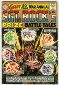 Silver Age (1956-1969):War, Sgt. Rock's Prize Battle Tales Annual #1 (DC, 1964) Condition: VG/FN....