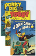Golden Age (1938-1955):Miscellaneous, Four Color Group (Dell, 1950-52) Condition: Average VG+.... (Total: 50 Comic Books)