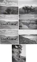 Photography:Official Photos, L. A. Huffman Montana Photographs: Lot of Seven.... (Total: 7 Items)
