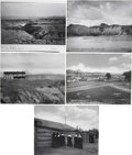 Photography:Official Photos, L. A. Huffman Montana and North Dakota Photographs: Lot of Five. ... (Total: 5 Items)