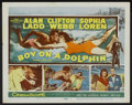 "Movie Posters:Adventure, Boy on a Dolphin (20th Century Fox, 1957). Lobby Card Set of 8 (11""X 14""). Adventure.... (Total: 8 Items)"