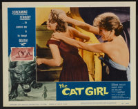 """The Cat Girl (American International, 1957). Lobby Card Set of 8 (11"""" X 14""""). Horror.... (Total: 8 Items)"""