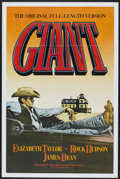 "Movie Posters:Drama, Giant (Kino International, R-1982). One Sheet (27"" X 41"").Drama...."