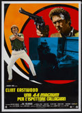 "Movie Posters:Action, Magnum Force (Warner Brothers, 1973). Italian Poster (26"" X 36.5"").Action...."