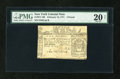 Colonial Notes:New York, New York February 16, 1771 L5 PMG Very Fine 20 Net....