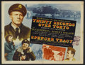 "Movie Posters:War, Thirty Seconds Over Tokyo (MGM, 1944). Half Sheet (22"" X 28"").War...."