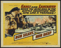 "Movie Posters:War, Run Silent, Run Deep (United Artists, 1958). Half Sheet (22"" X 28"")Style A. War...."