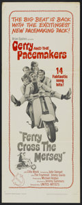 "Movie Posters:Rock and Roll, Ferry Cross the Mersey (United Artists, 1965). Insert (14"" X 36"").Rock and Roll...."
