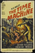 "Movie Posters:Science Fiction, The Time Machine (MGM, 1960). One Sheet (27"" X 41""). ScienceFiction...."