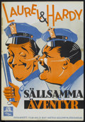 """Movie Posters:Comedy, The Midnight Patrol (MGM, 1933). Swedish One Sheet (27"""" X 39""""). Comedy...."""