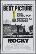 "Movie Posters:Sports, Rocky (United Artists, 1977). One Sheet (27"" X 41"") Academy Award Style B. Sports...."