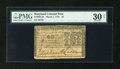 Colonial Notes:Maryland, Maryland March 1, 1770 $2 PMG Very Fine 30 Net....