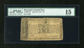 Colonial Notes:Maryland, Maryland April 10, 1774 $1 PMG Choice Fine 15....