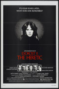 "Movie Posters:Horror, Exorcist II: The Heretic (Warner Brothers, 1977). One Sheet (27"" X 41""). Horror...."