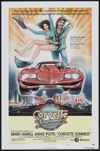 """Corvette Summer (MGM, 1978). One Sheet (27"""" X 41"""") Style A. Action"""