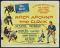 """Movie Posters:Rock and Roll, Rock Around the Clock (Columbia, 1956). Half Sheet (22"""" X 28"""")Style B. Rock and Roll...."""
