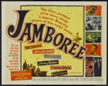 "Movie Posters:Rock and Roll, Jamboree (Warner Brothers, 1957). Half Sheet (22"" X 28""). Rock andRoll...."