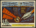 "Movie Posters:Science Fiction, Unknown World (Lippert, 1951). Half Sheet (22"" X 28""). ScienceFiction...."