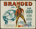 """Movie Posters:Western, Branded (Paramount, 1951). Half Sheet (22"""" X 28"""") Style A.Western...."""
