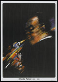 "Movie Posters:Musical, Jazz Greats--Charlie Parker (PSJ, 1985). Polish One Sheet (26.5"" X37.5""). Music...."