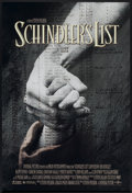 "Movie Posters:Academy Award Winner, Schindler's List (Universal, 1993). One Sheet (27"" X 40"") SS. Academy Award Winner...."