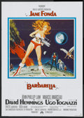 "Movie Posters:Science Fiction, Barbarella (Paramount, 1968). German A1 (23"" X 33""). ScienceFiction...."