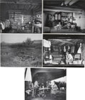 Photography:Official Photos, L. A. Huffman Montana Photographs: Lot of Five.... (Total: 5 Items)