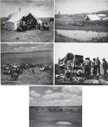 Photography:Official Photos, L. A. Huffman Montana Photographs: Lot of Five. ... (Total: 5Items)