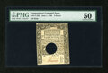 Colonial Notes:Connecticut, Connecticut June 1, 1780 9d PMG About Uncirculated 50....