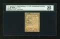 Colonial Notes:Continental Congress Issues, Continental Currency February 17, 1776 $2/3 PMG Very Fine 25....