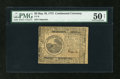 Colonial Notes:Continental Congress Issues, Continental Currency May 10, 1775 $6 PMG About Uncirculated 50Net....