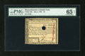 Colonial Notes:Massachusetts, Massachusetts May 5, 1780 $5 PMG Gem Uncirculated 65 EPQ....
