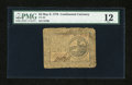 Colonial Notes:Continental Congress Issues, Continental Currency May 9, 1776 $2 PMG Fine 12....