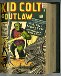 Silver Age (1956-1969):Western, Kid Colt Outlaw #102-120 Bound Volume (Marvel, 1962-65)....