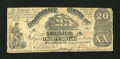 Confederate Notes:1861 Issues, T18 $20 1861.. ...