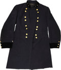 "Military & Patriotic:Civil War, The Civil War Regulation Brigadier General's Frock Coat, Displaying the Rank of Major General on the 1½"" High Velvet Stand Up ... (Total: 2 Items)"