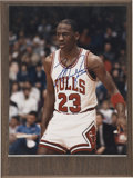 Autographs:Photos, Michael Jordan Single Signed Photograph....