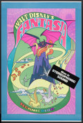 "Movie Posters:Animated, Fantasia (Buena Vista, R-1970). Poster (40"" X 60""). Animated...."