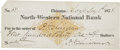 "Autographs:Military Figures, Philip H. Sheridan Autograph Check Signed Three Times ""P. H. Sheridan"". ..."