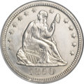 Seated Quarters, 1850 25C MS65 NGC....