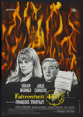 """Movie Posters:Science Fiction, Fahrenheit 451 (Universal, 1967). German A1 (23"""" X 33""""). Science Fiction...."""