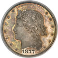 Patterns, 1877 50C Half Dollar, Judd-1535, Pollock-1703, R.8, PR65 PCGS....